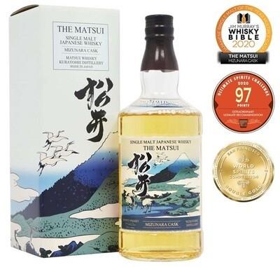 The Matsui 'Mizunara Cask' Single Malt Japanese Whisky