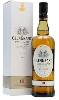 Glen Grant '10 Years Old' Single Malt Whisky