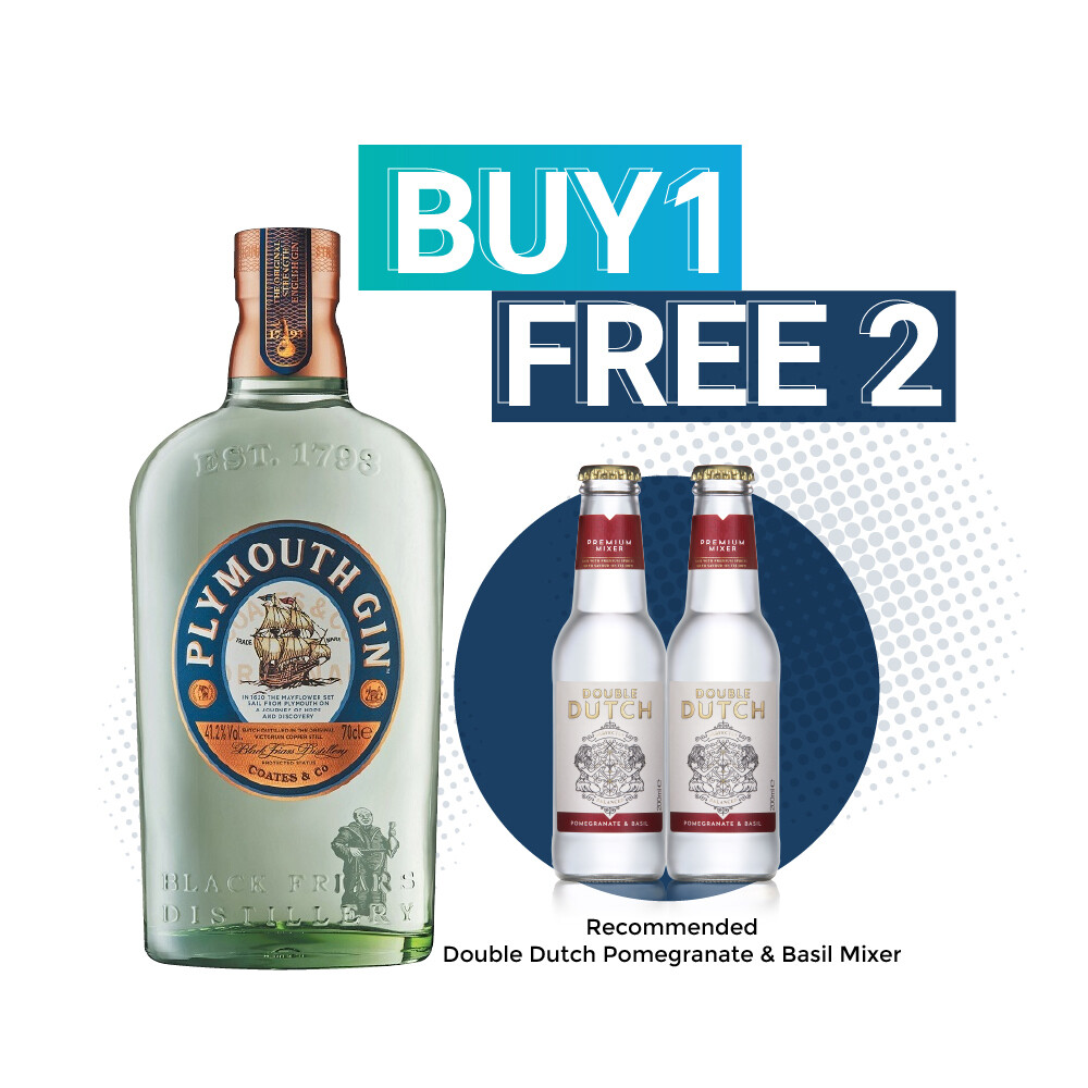 (Free Double Dutch) Plymouth Gin