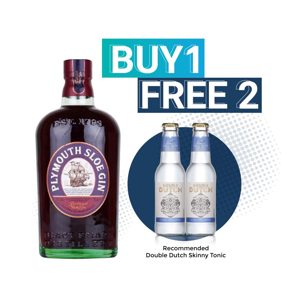 (Free Double Dutch) Plymouth Sloe Gin