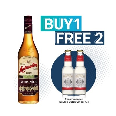 (Free Double Dutch) Matusalem 'Extra Anejo' Rum