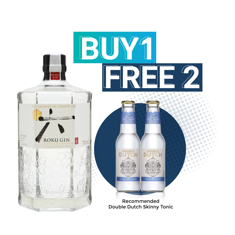 (Free Double Dutch) Roku Japanese Gin