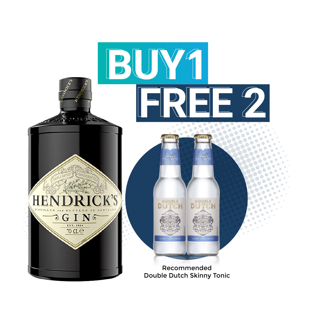 (Free Double Dutch) Hendrick's Gin