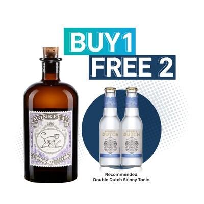 (Free Double Dutch) Monkey 47 'Schwarzwald' Dry Gin