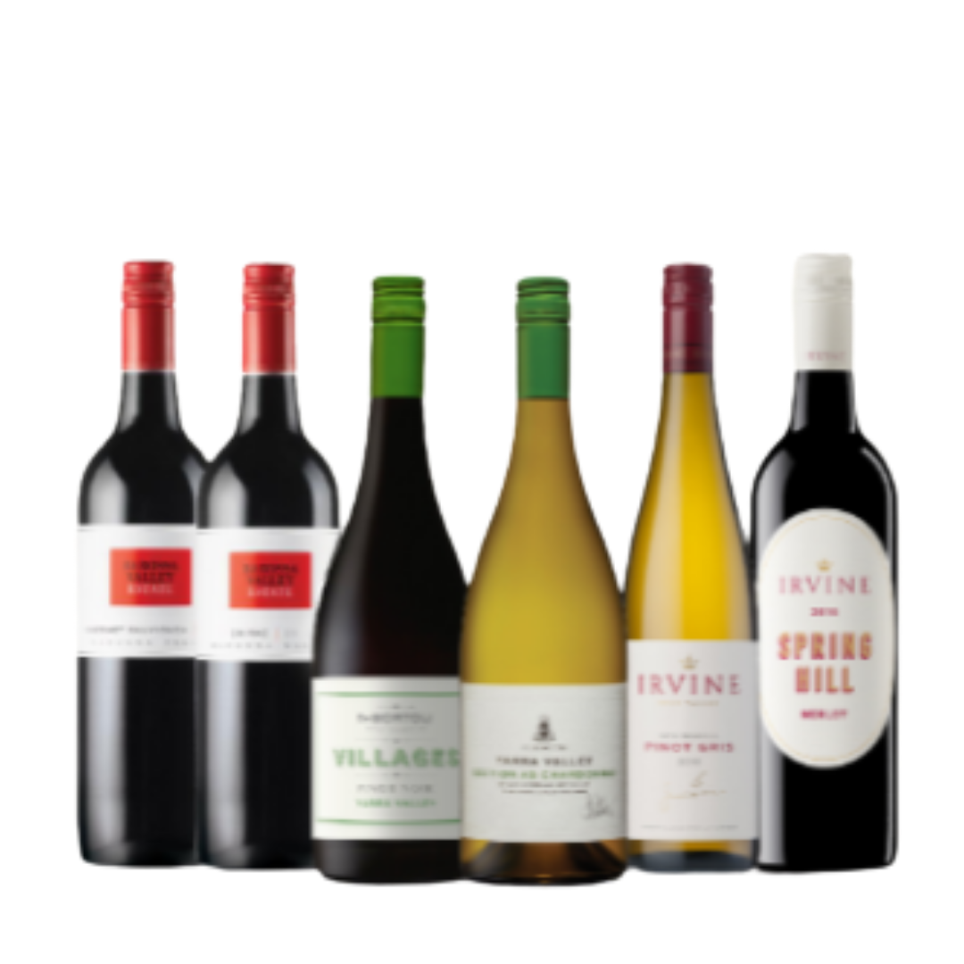 (Bundle of 6) Australian Red & White Mixed Cases