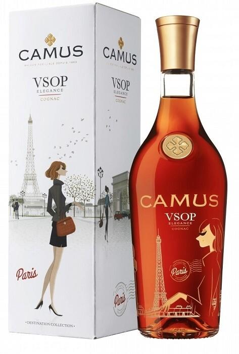 Camus 'Destination Collection: Paris' VSOP Cognac (500ml Limited Edition)
