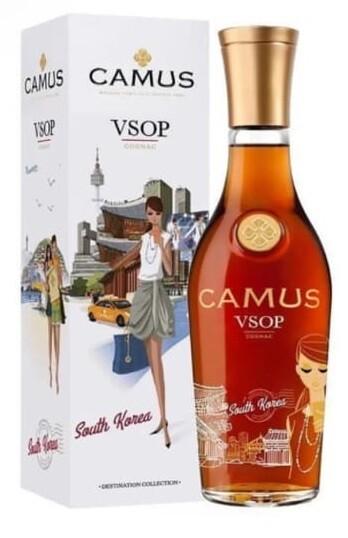 Camus 'Destination Collection: South Korea' VSOP Cognac (500ml Limited Edition)