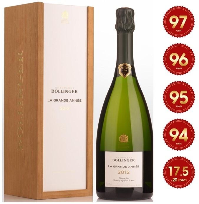 Bollinger 'La Grande Annee' Champagne 2012