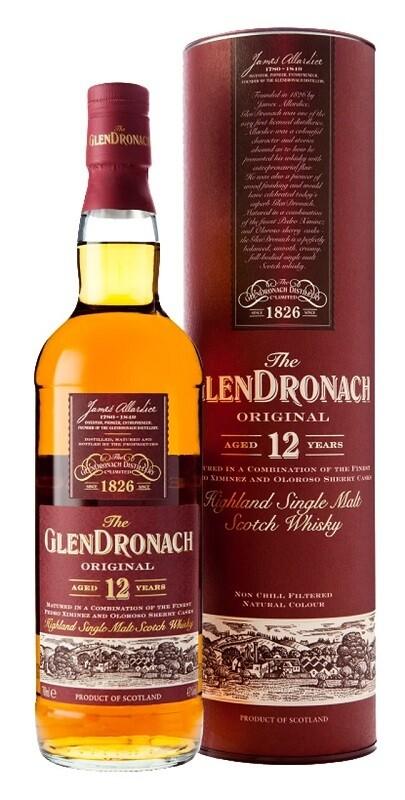 Glendronach '12 Years Old' Single Malt Scotch Whisky