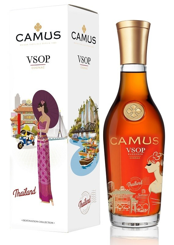 Camus 'Destination Collection: Thailand' VSOP Cognac (500ml Limited Edition)