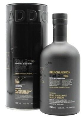 Bruichladdich 'Black Art Limited Edition 08.1' - 26 Years Old Unpeated Islay Single Malt Whisky 1994