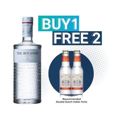 (Free Double Dutch Mixer) The Botanist Islay Dry Gin