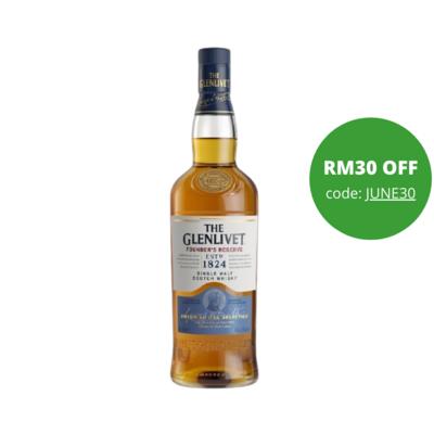 The Glenlivet 'Founder's Reserve' Single Malt Scotch Whisky
