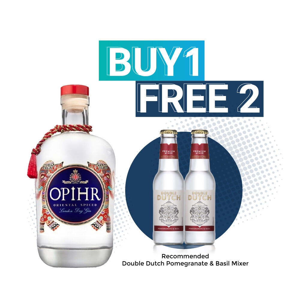 (Free Double Dutch) Opihr 'Oriental Spiced' London Dry Gin