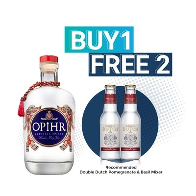 (Free Double Dutch Mixer) Opihr 'Oriental Spiced' London Dry Gin