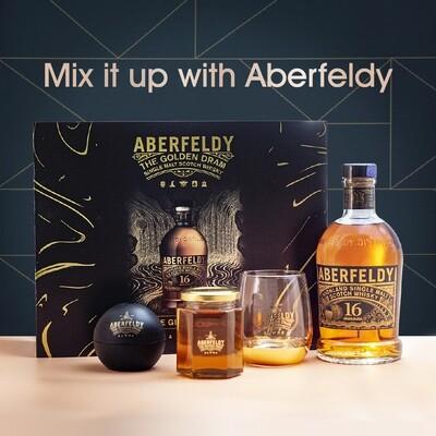 Aberfeldy '16 Years Old' Single Malt Scotch Whisky (Limited Edition Gift Box)