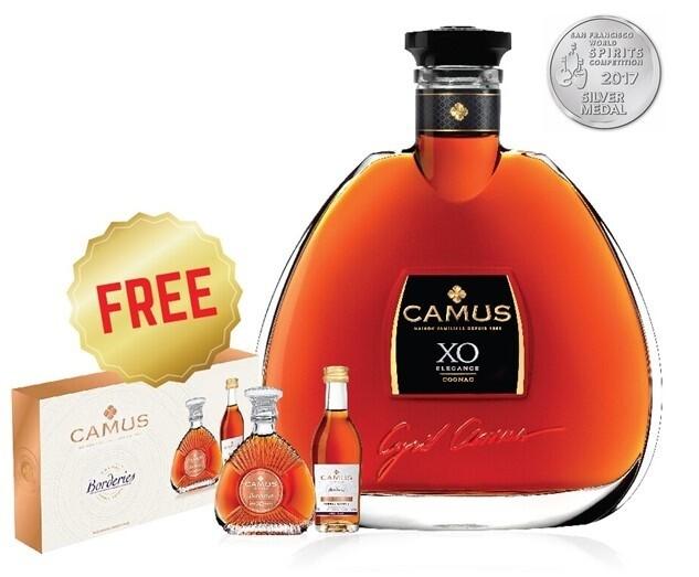 (Free Camus Miniature Set) Camus 'XO Elegance' Cognac