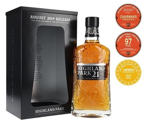 Highland Park '21 Years Old' Single Malt Scotch Whisky (2019 Release)