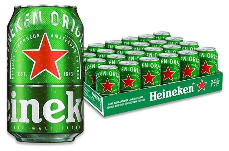 Heineken Beer (24 x 320ml can)