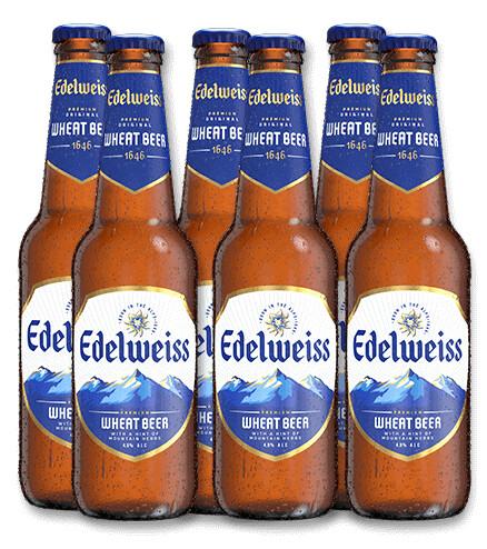 Edelweiss White Beer (6 x 330ml bottle)