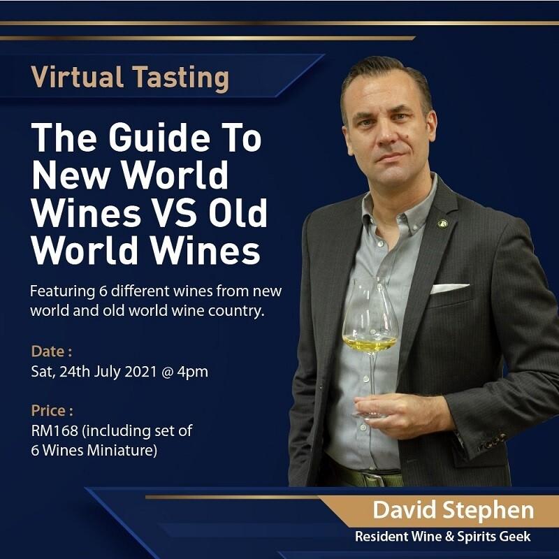 Online Wine Tasting - Old World vs New World - July 24th 2021