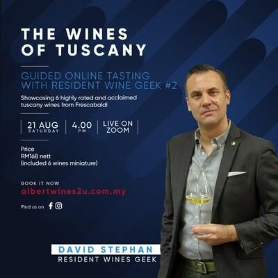 Online Wine Tasting #2 - The Wine of Tuscany