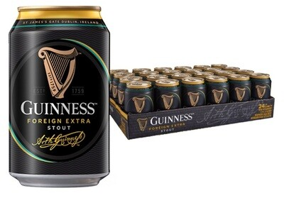 Guinness 'Foreign Extra Stout' Beer (24 x 320ml can)