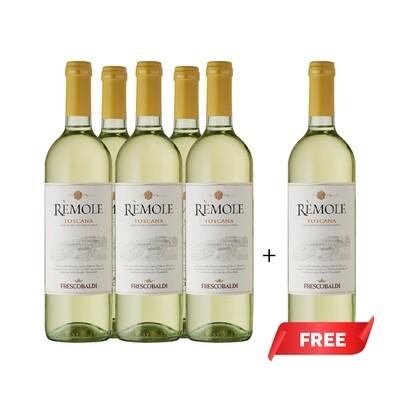 (Buy 5 Free 6th) Frescobaldi 'Remole' Bianco di Toscana