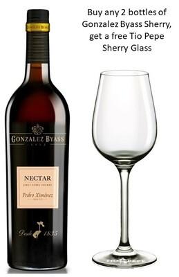 Gonzalez Byass 'Nectar' Sweet Sherry (375ml) - Buy 2 Mixed Sherry Bottle, get 1 free Sherry Glass