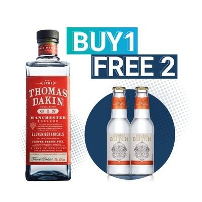 (Free Double Dutch Indian Tonic) Thomas Dakin 'Small Batch' Gin