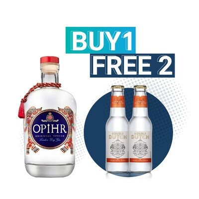 (Free Double Dutch Indian Tonic) Opihr 'Oriental Spiced' London Dry Gin