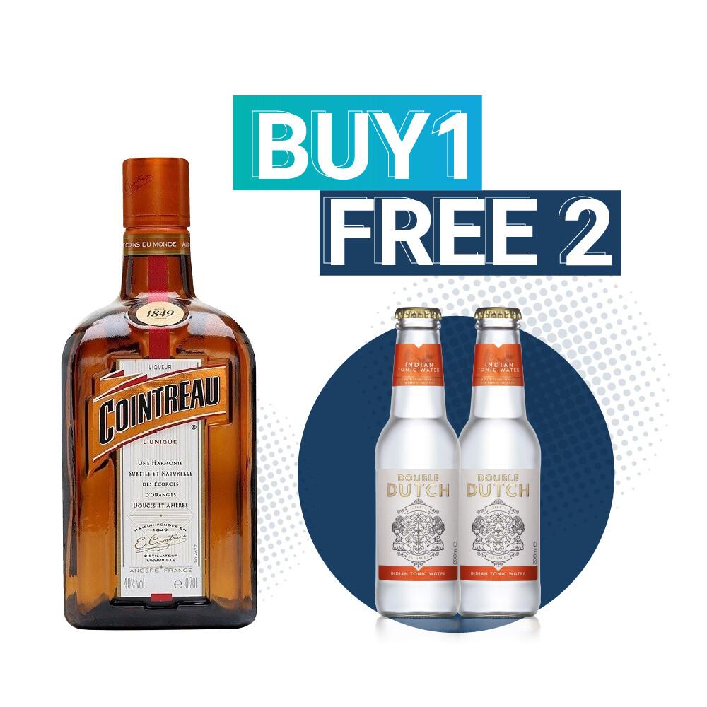 (Free Double Dutch Indian Tonic) Cointreau Orange Liqueur