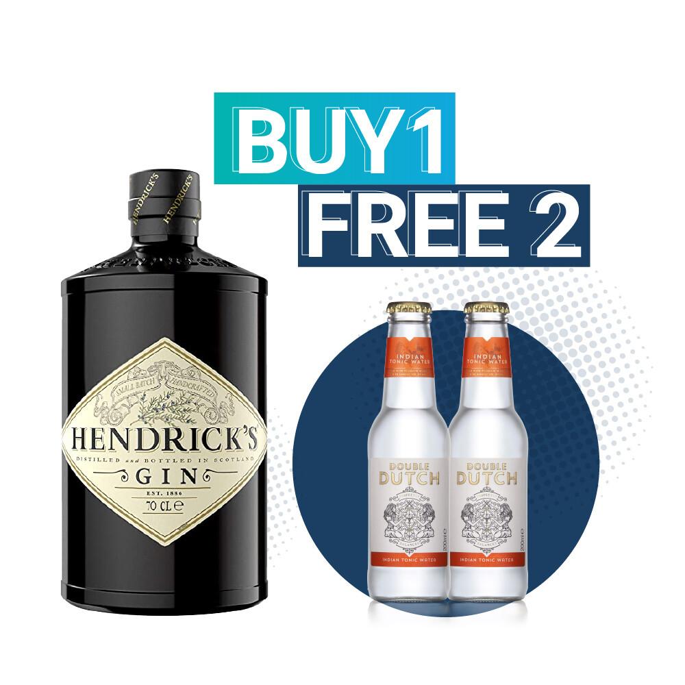(Free Double Dutch Indian Tonic) Hendrick's Gin