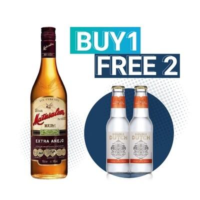 (Free Double Dutch Indian Tonic) Matusalem 'Extra Anejo' Rum