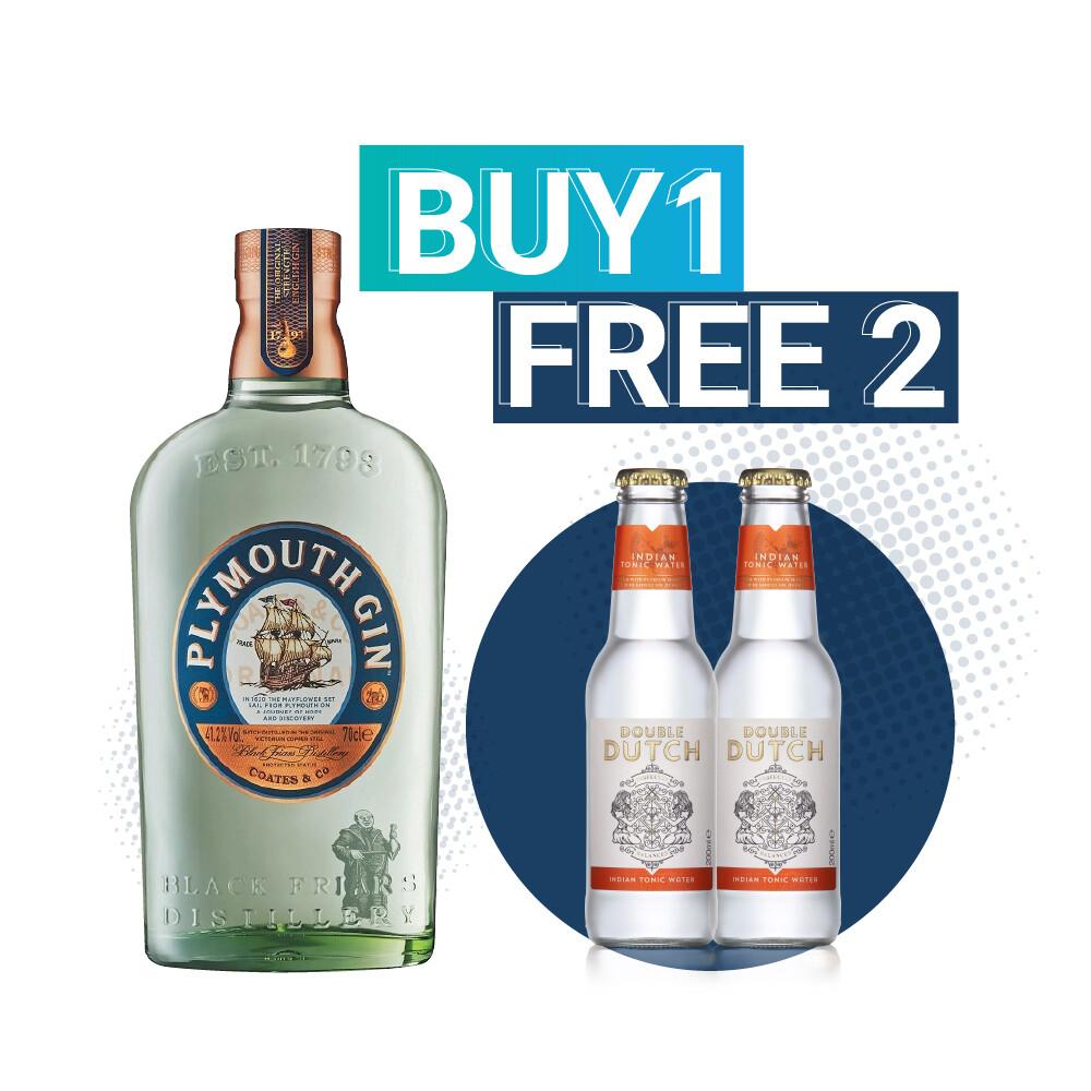 (Free Double Dutch Indian Tonic) Plymouth Gin