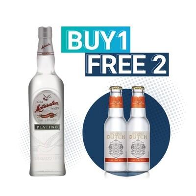(Free Double Dutch Indian Tonic) Matusalem 'Platino' Rum