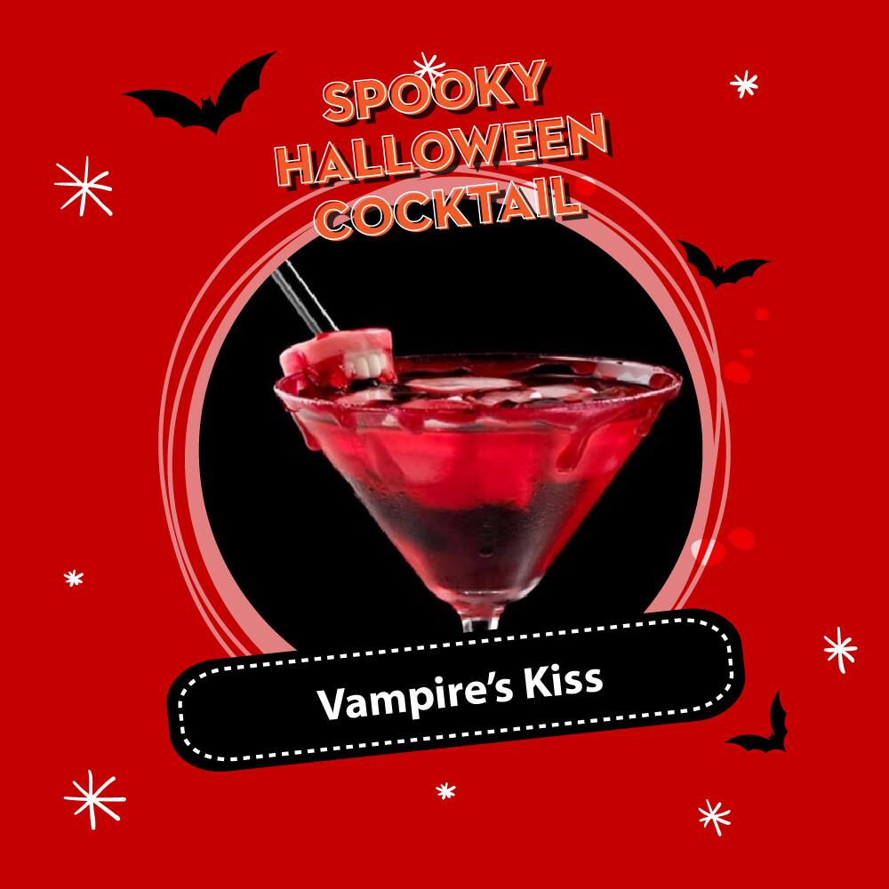 (Halloween Cocktail Pack) Vampire's Kiss