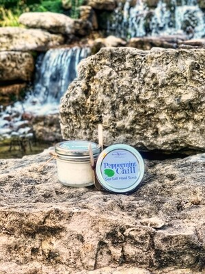 Peppermint Chill Sea Salt Hand Scrub