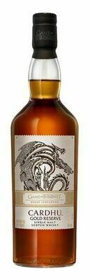 Cardhu Game of Thrones: House Targaryen Gold Reserve Scotch Malt Whisky