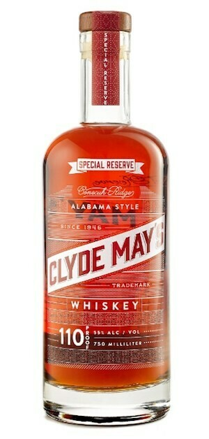 Clyde May's 110 Proof Special Reserve Whiskey - 750 mL