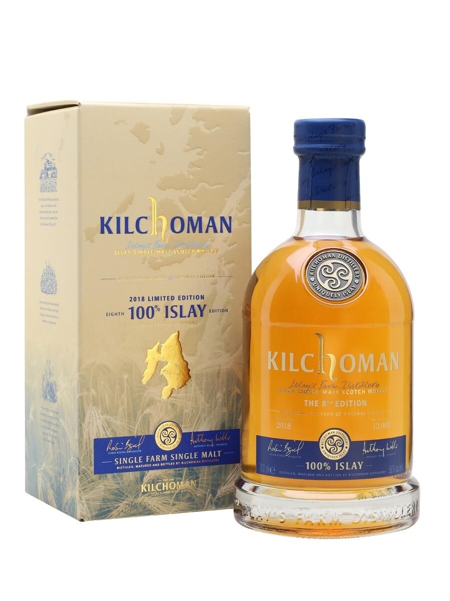 Kilchoman 100% Islay 6th Edition Scotch Malt Whisky