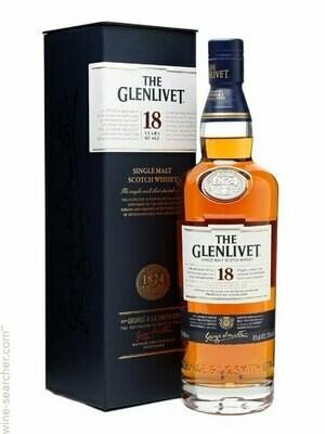 Glenlivet 18-Year Scotch Malt Whisky - 750ml