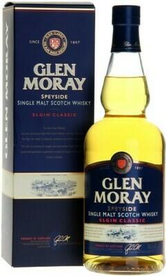 Glen Moray Elgin Classic Scotch Malt Whisky - 750ml
