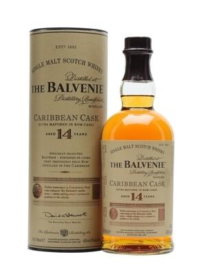 Balvenie 14-Year Caribbean Cask Scotch Malt Whisky - 750ml