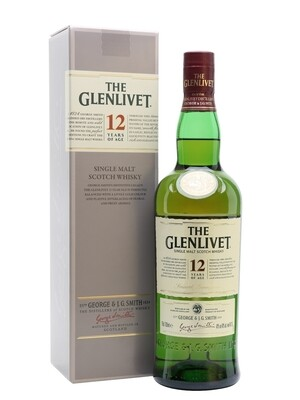 Glenlivet 12-Year Scotch Malt Whisky - 750ml