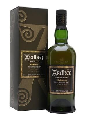 "Ardbeg ""Uigeadail"" Scotch Malt Whisky - 750ml"