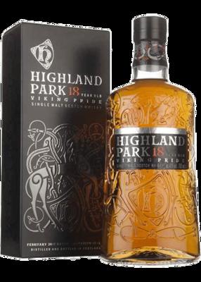 Highland Park 18-Year Scotch Malt Whisky