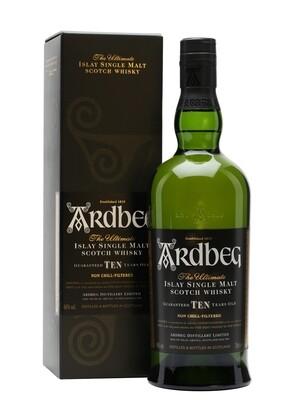 Ardbeg 10-Year Scotch Malt Whisky - 750ml