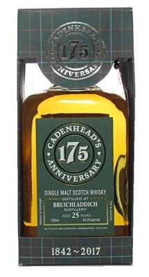 Cadenhead Bruichladdich 25-Year Scotch Malt Whisky (1991)