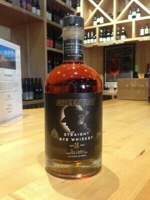 New Columbia Distillers Green Hat 3 Year Rye Whiskey - 750ml